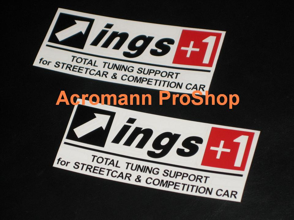 ings 6inch Decal (Style#3) x 2 pcs