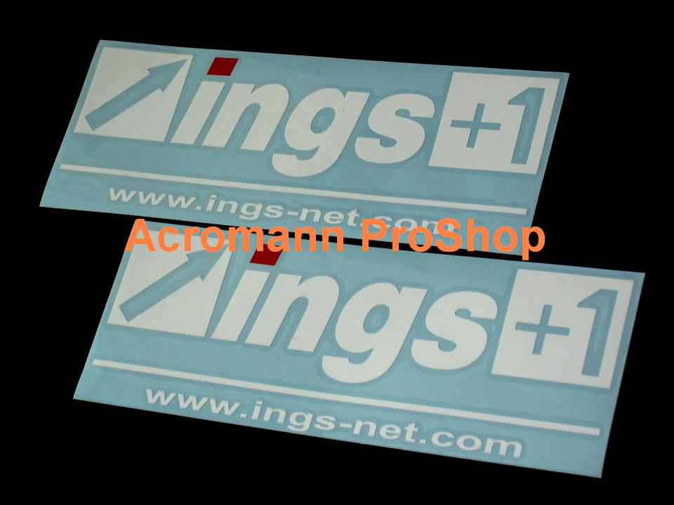 ings 6inch Decal (Style#1) x 2 pcs