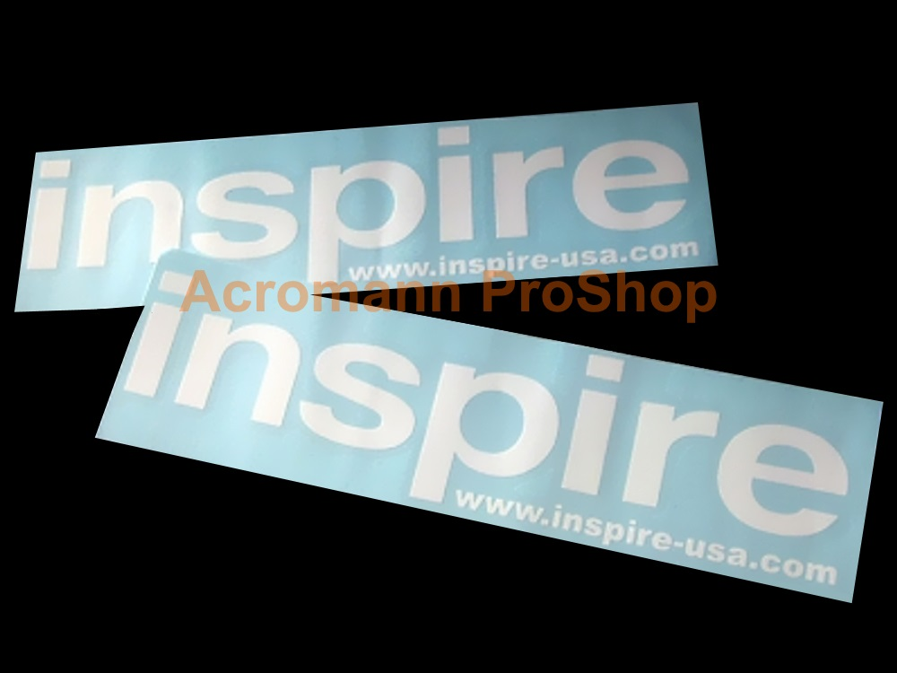 Inspire 6inch Decal (Style#1) x 2 pcs