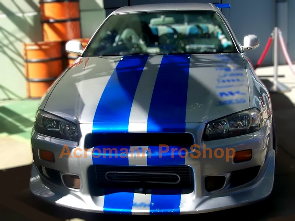 Fast and Furious Style Bonnet Stripes x 1 pair (middle)