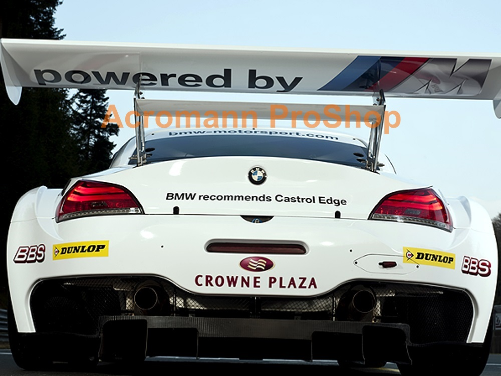 powered by M Windshield Decal