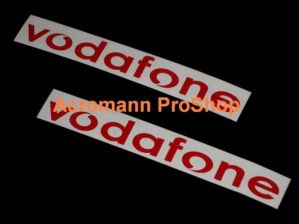 Vodafone (DTM) 6inch Decal (Style#1) x 2 pcs