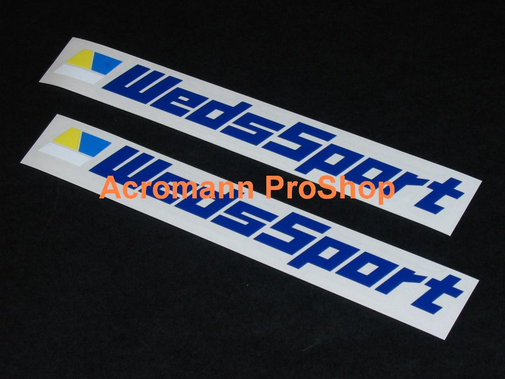 WedsSport 6inch Decal (Style#1) x 2 pcs